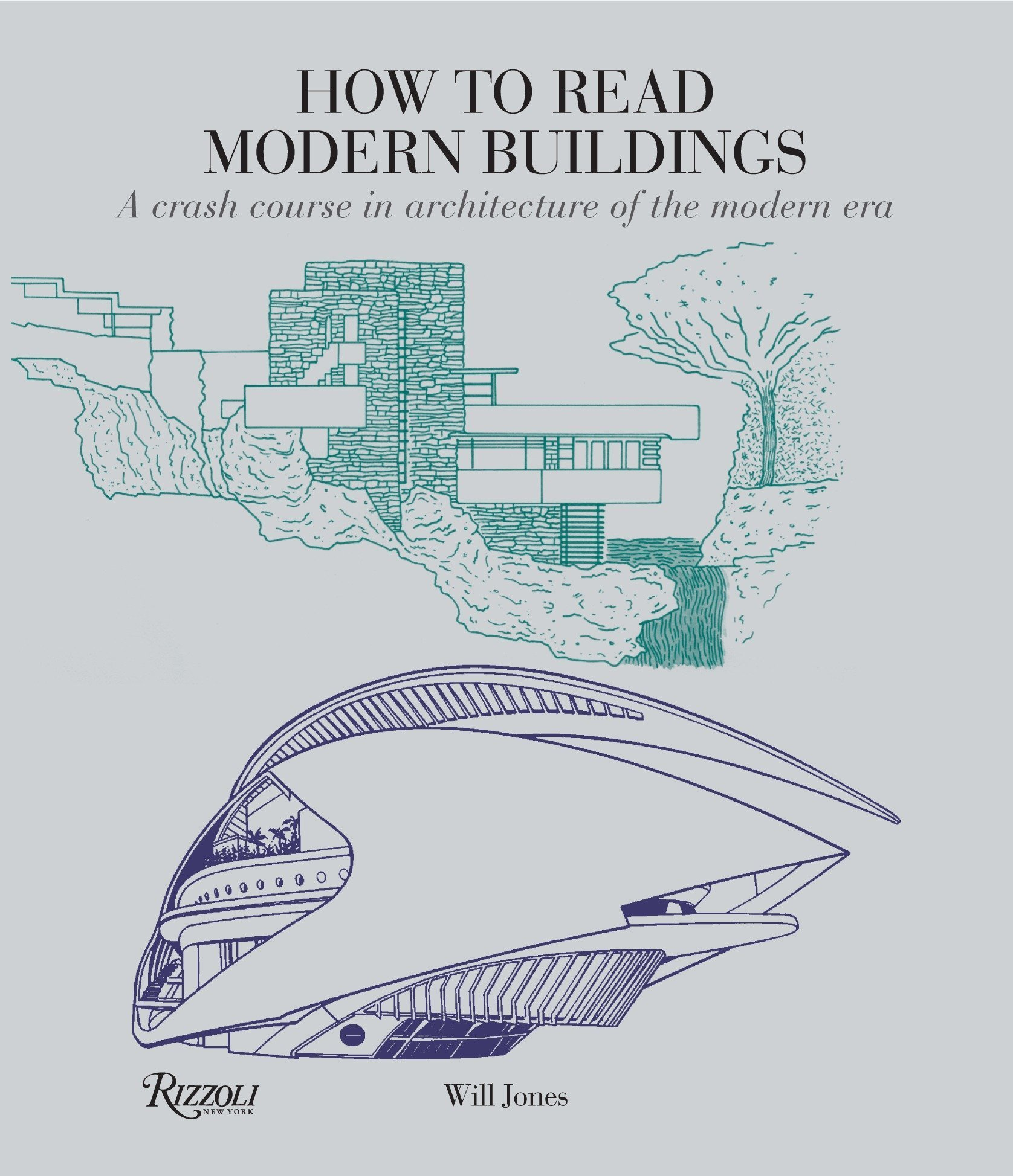 book cover modern architecture
