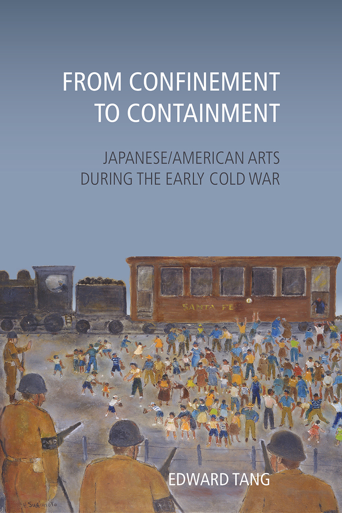 book cover illustration people concentration camp armed men