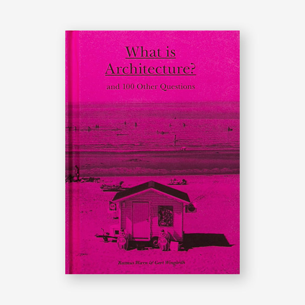 pink book cover house desert
