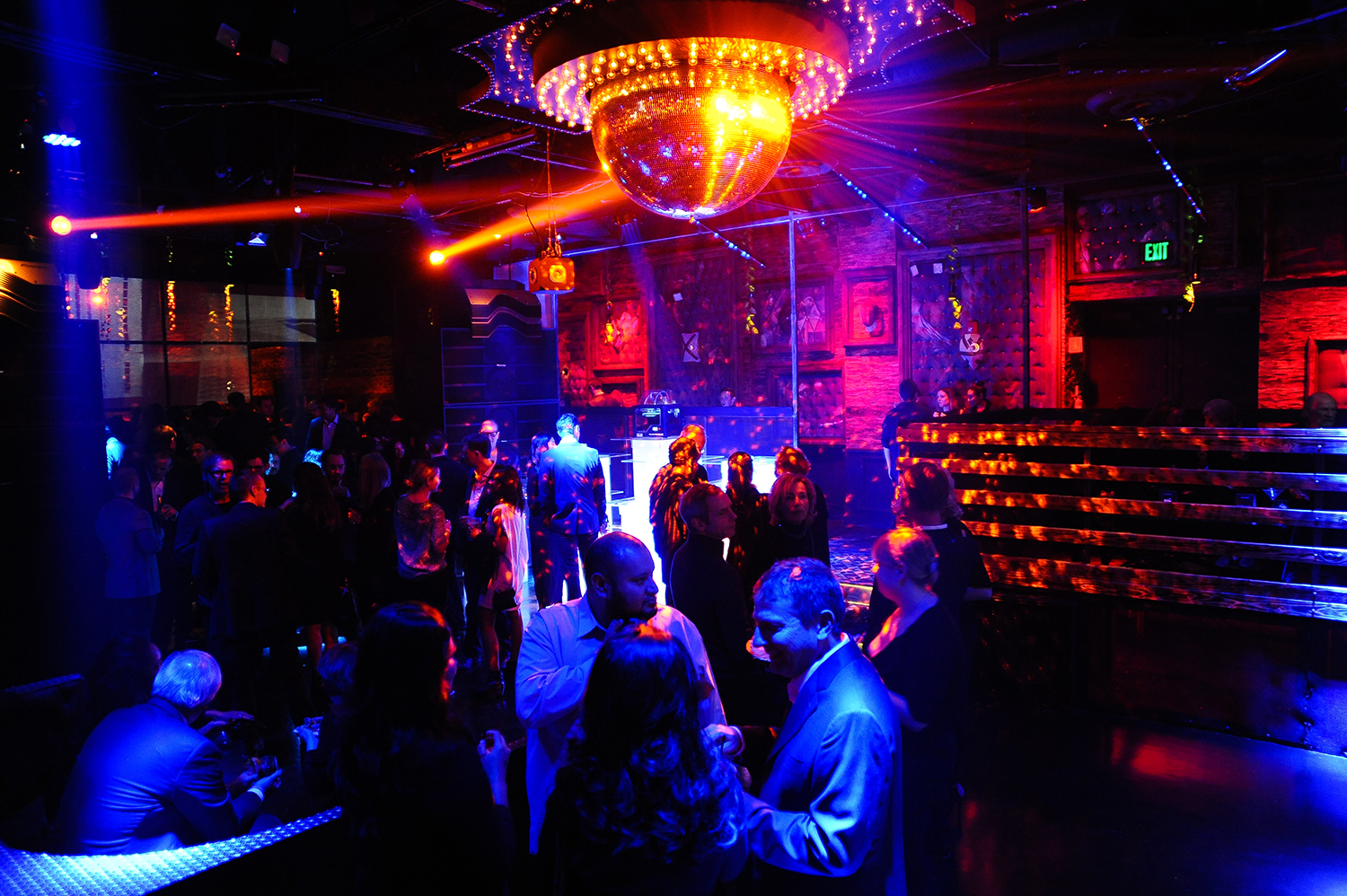 Main event party space