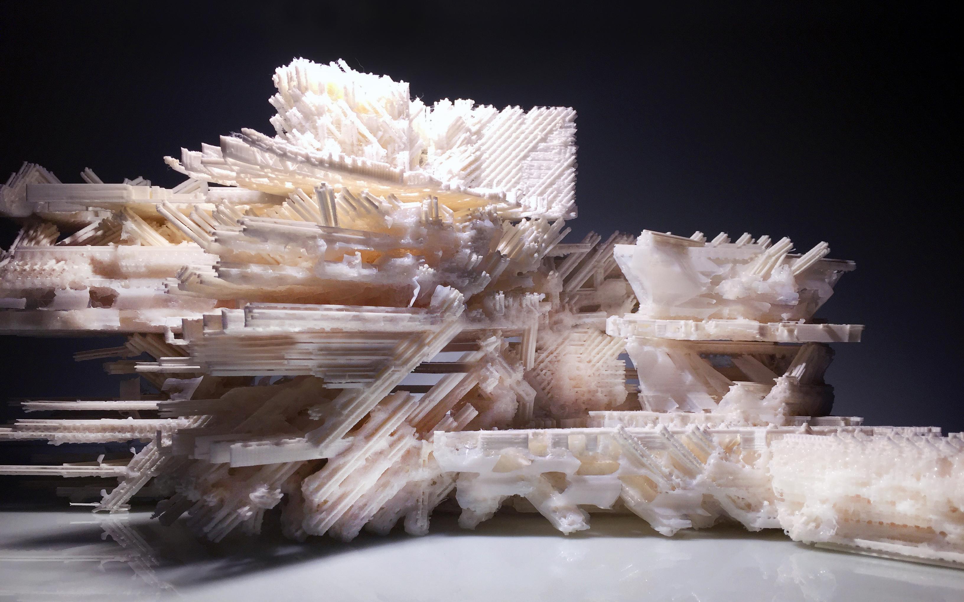 3D printed Architetcural model