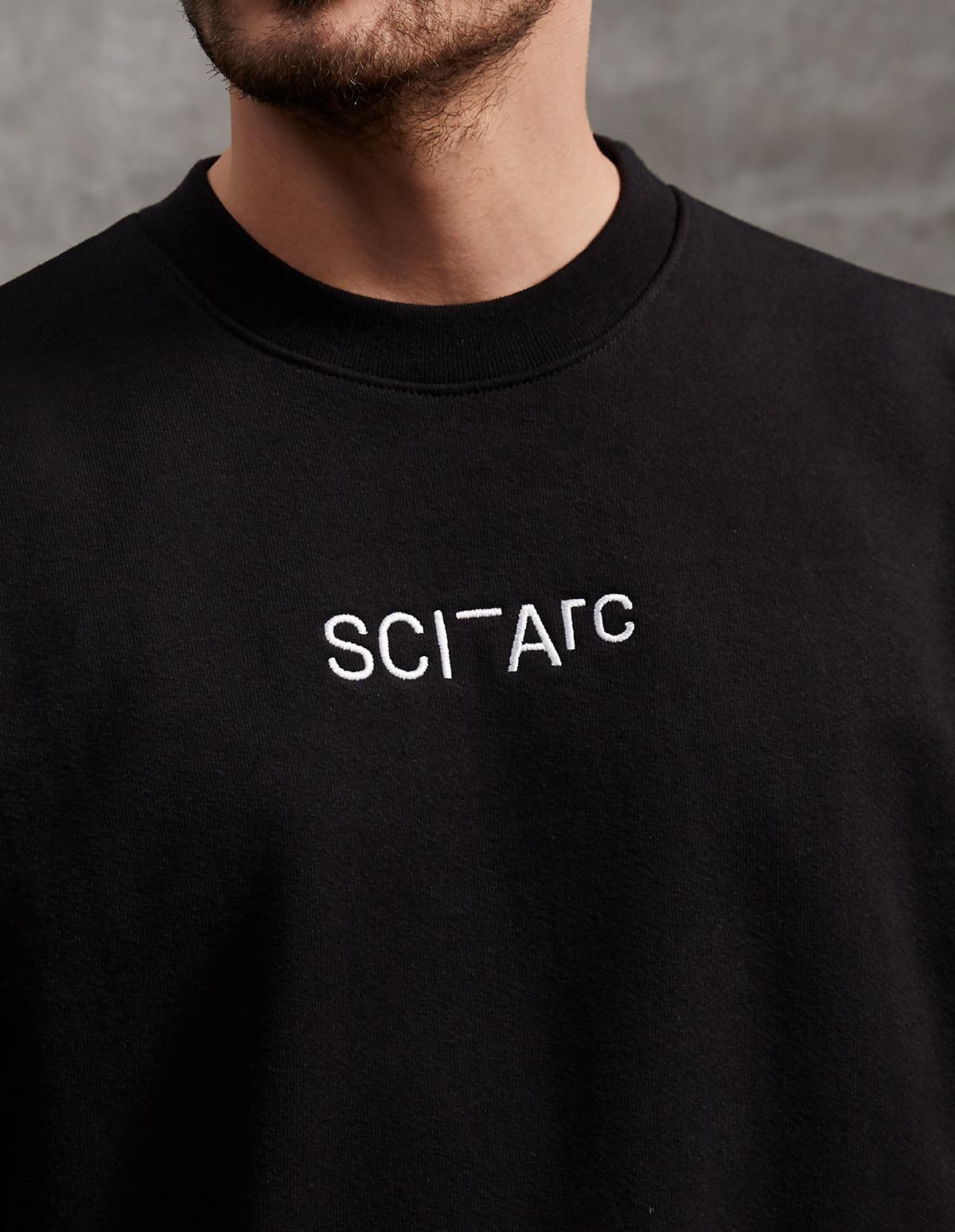 sci arc black crew neck