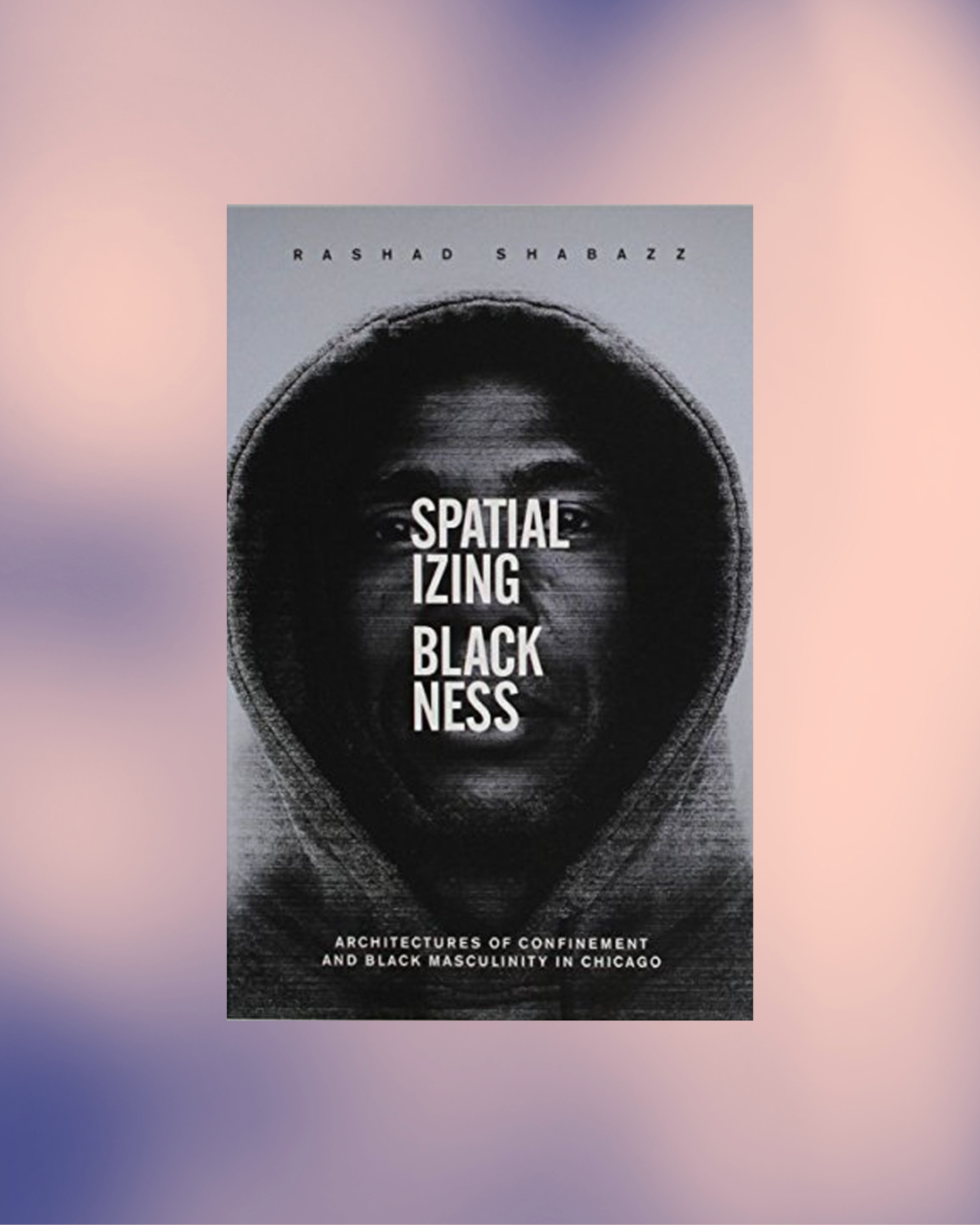 book cover spatializing blackness