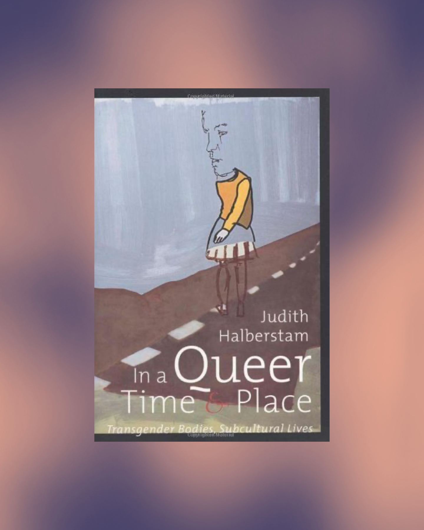 book cover in a queer time and place