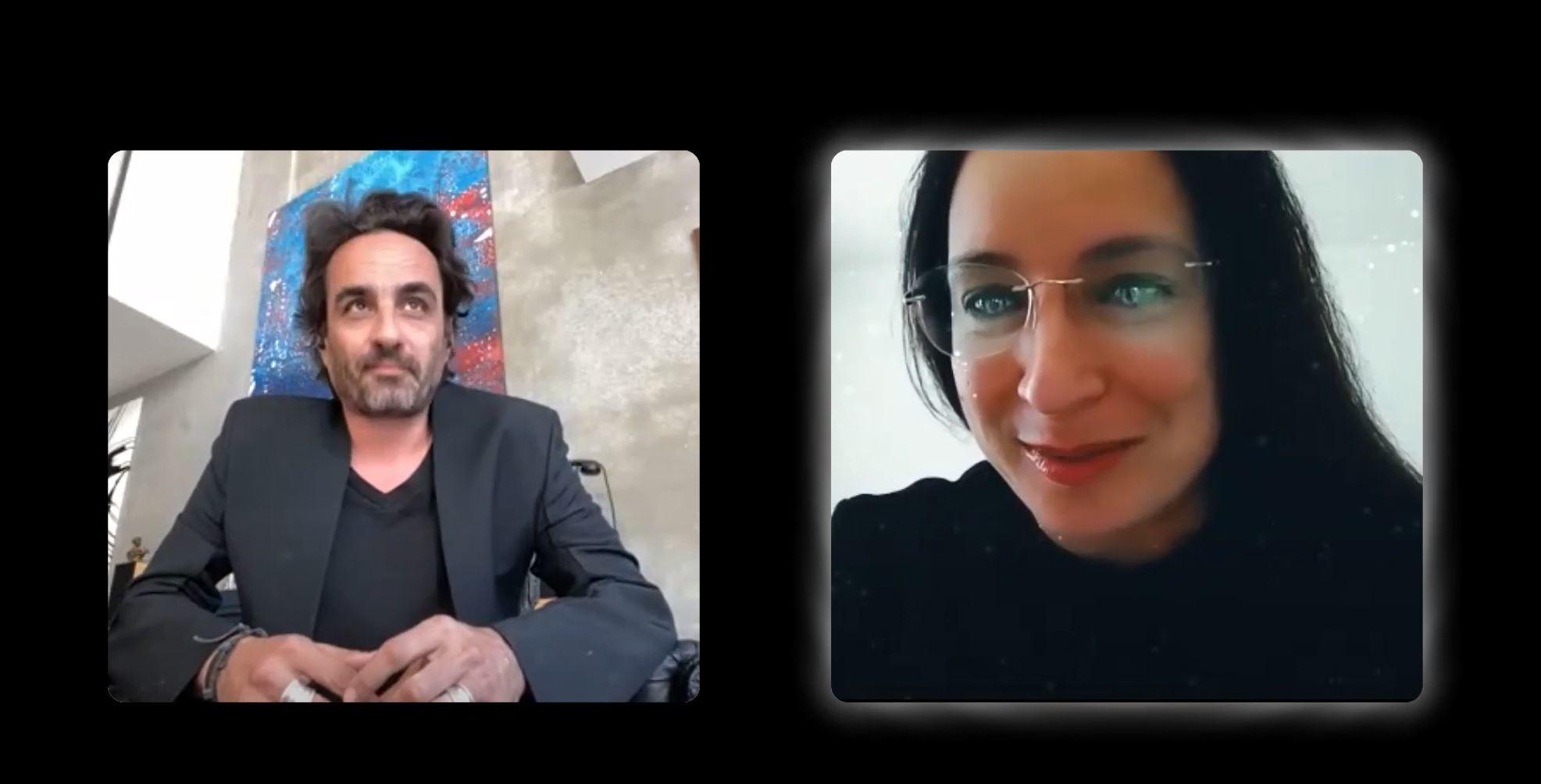 two windows with Gabriel Chiave and Elena Manferdini