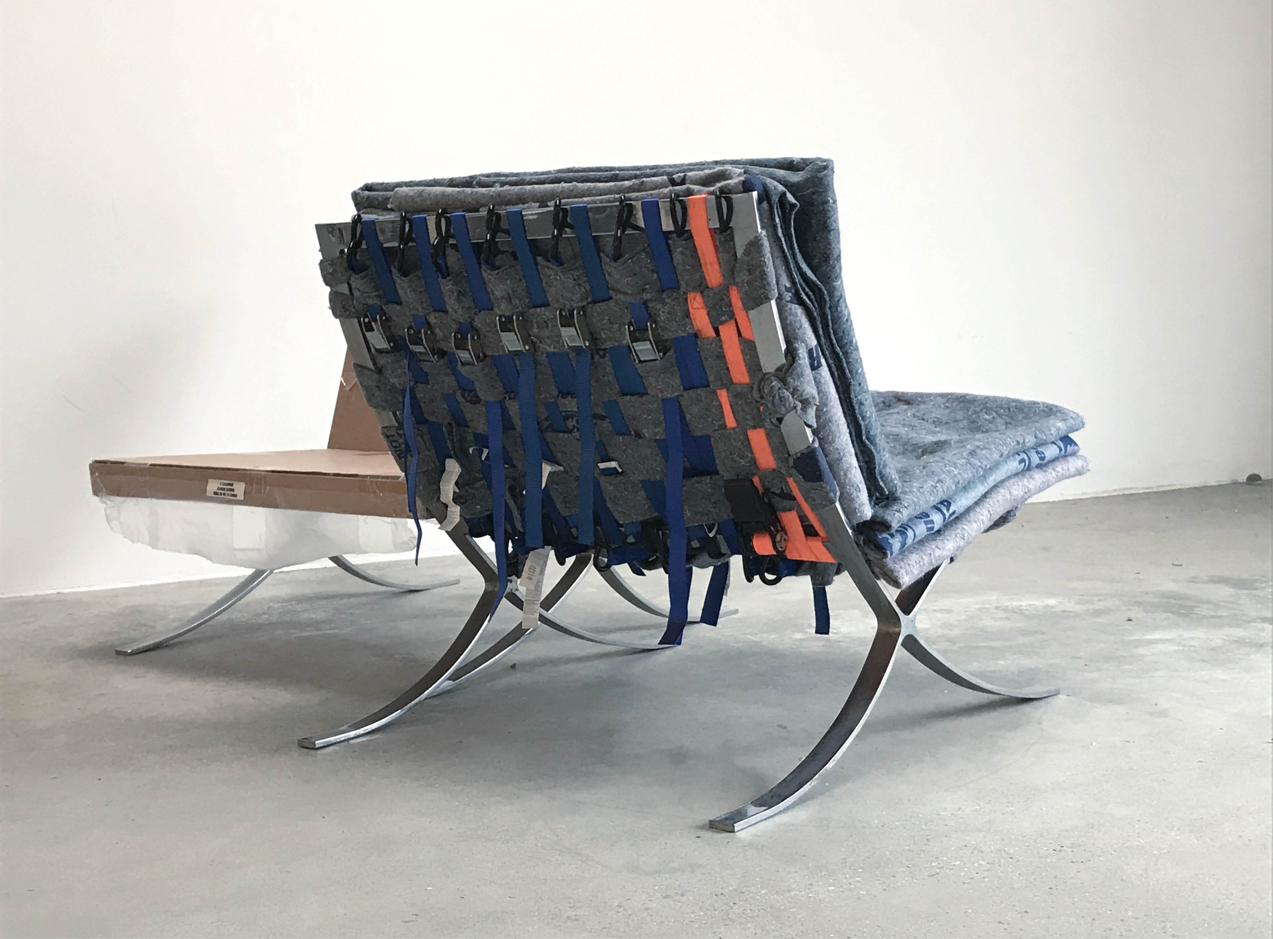 Courting Chairs by Joseph Di Matteo and Anna Hermann