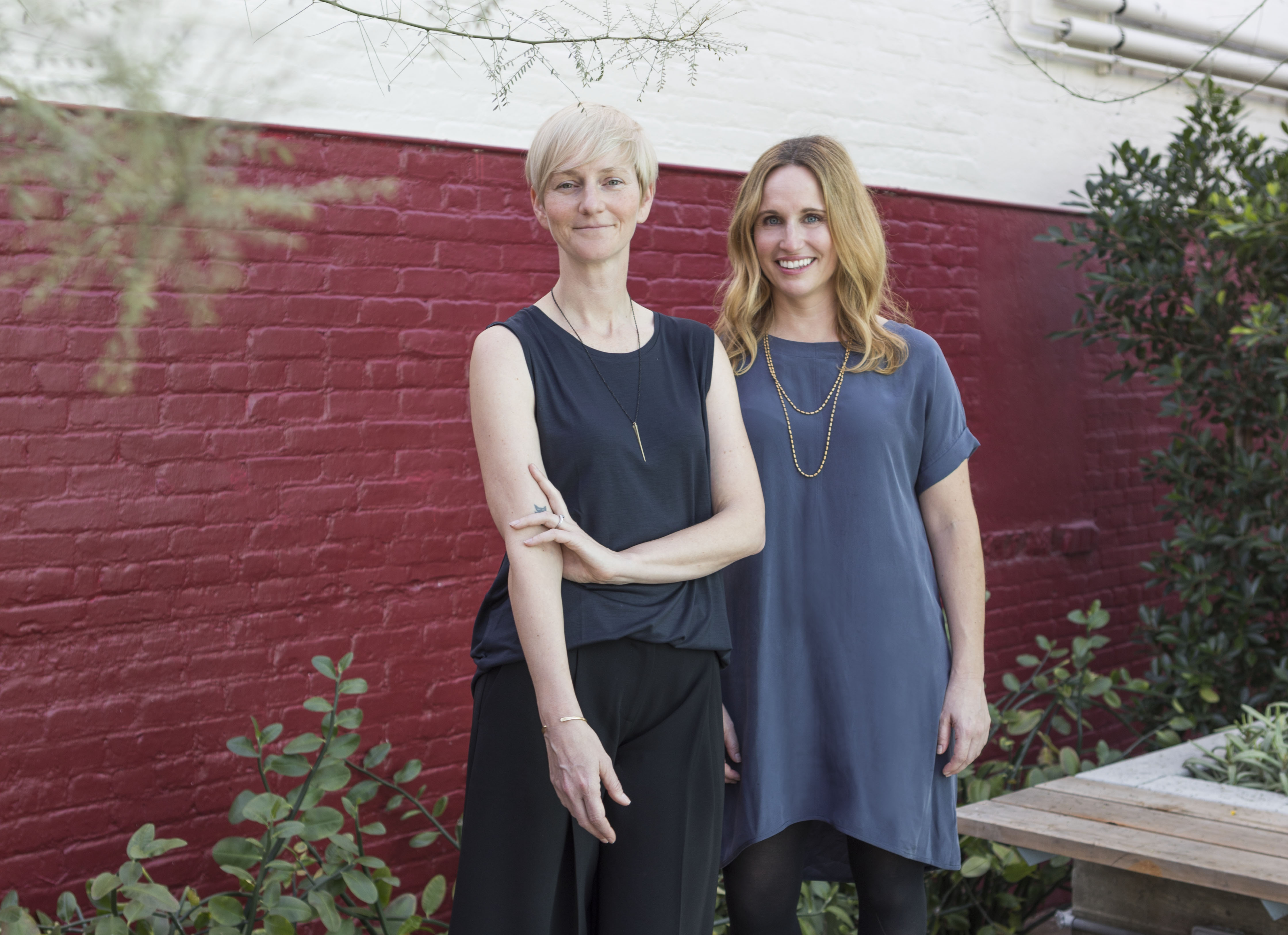 Catherine Johnson and Rebecca Rudolph portraits