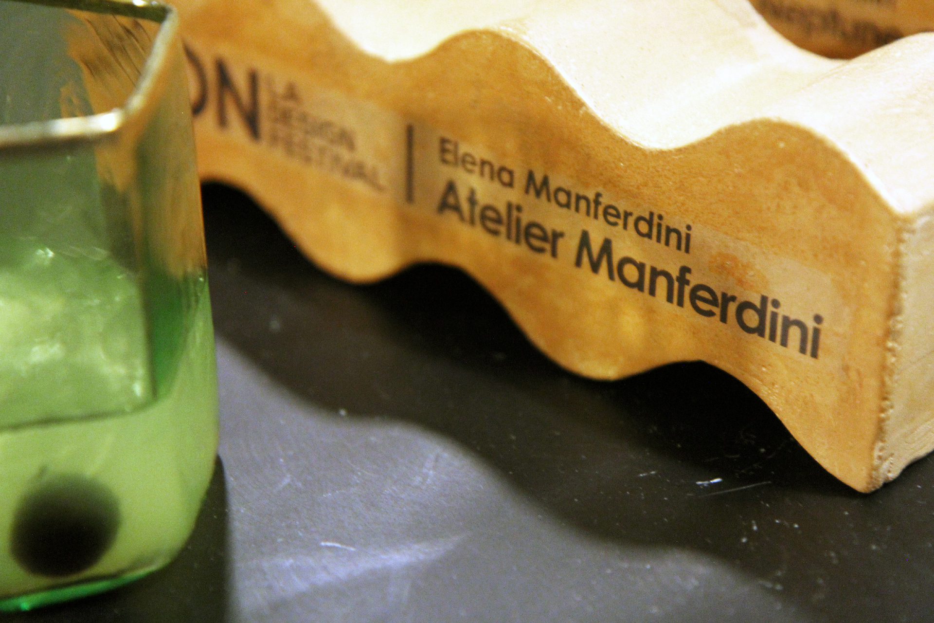 a trophy awarded to Elena Manferdini