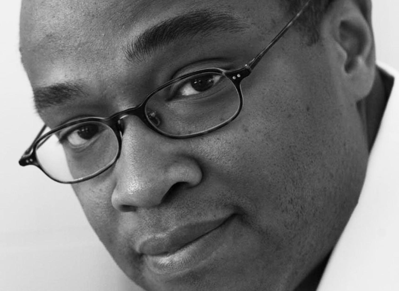 Darell Wayne Fields headshot black and white