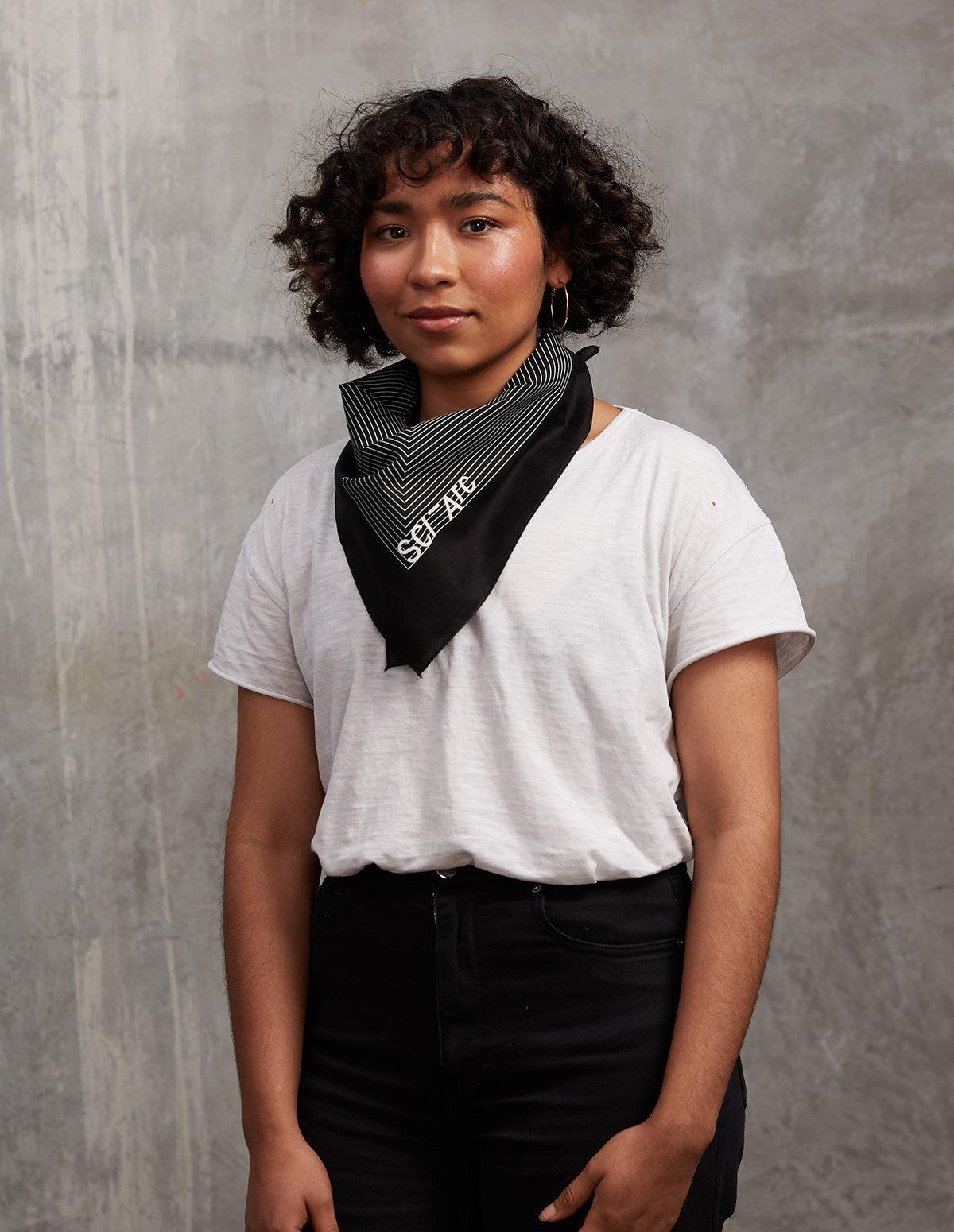 sci arc black bandana merchandise