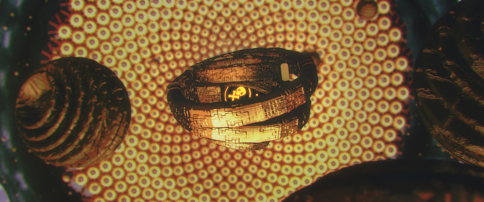film still gold pollen animation