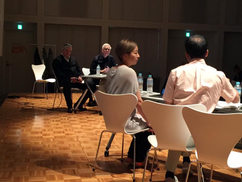 SCI-Arc faculties at Tokyo symposium