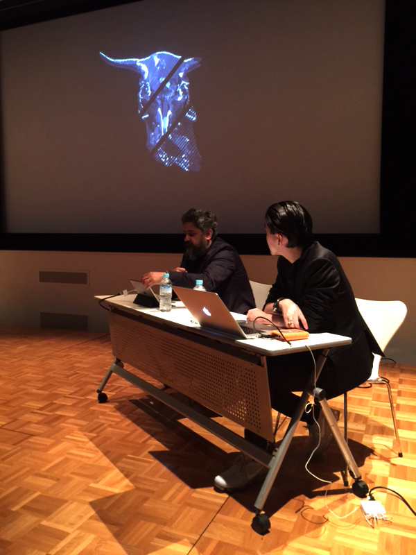SCI-Arc faculty Hernan Diaz Alonso presenting at Tokyo symposium
