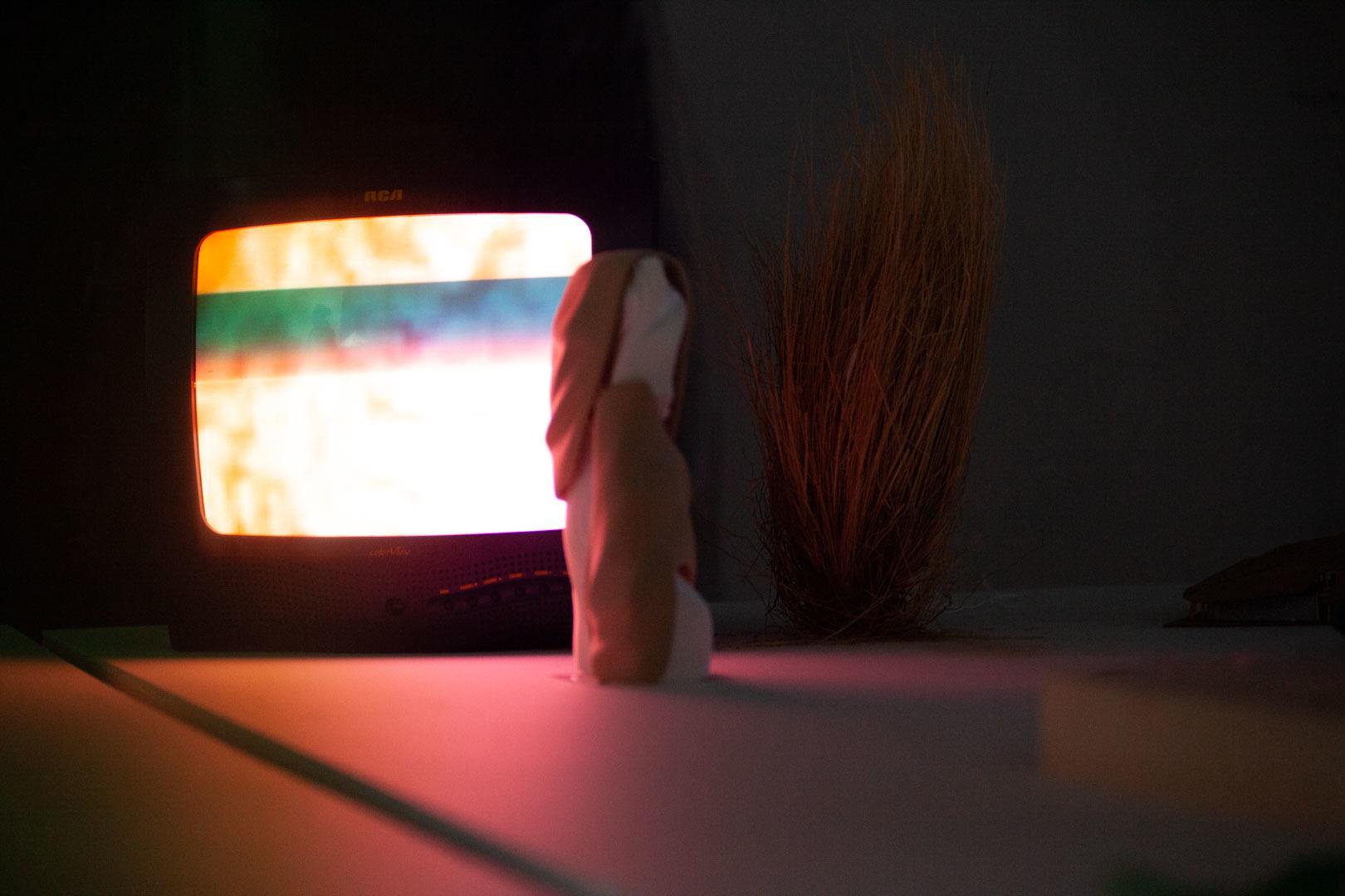 TV screen soft light architecture model