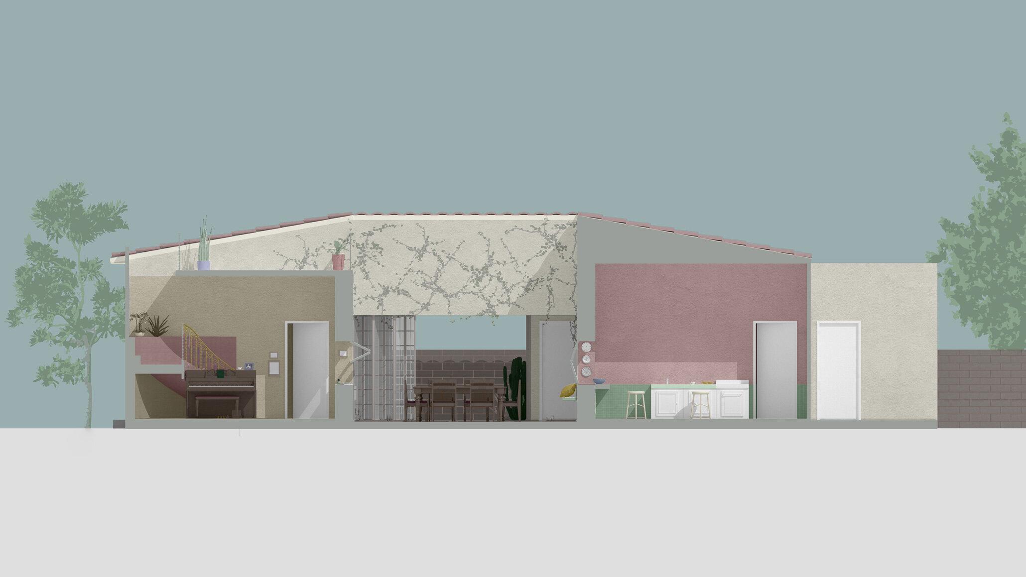 architecture render