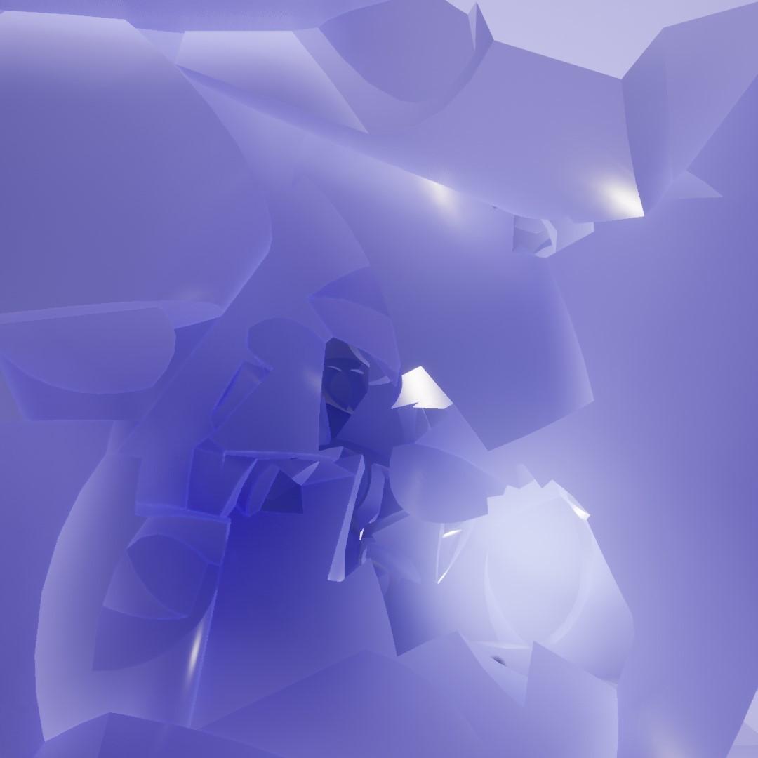 purple shapes render