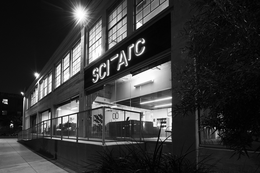 SCI-Arc building sign