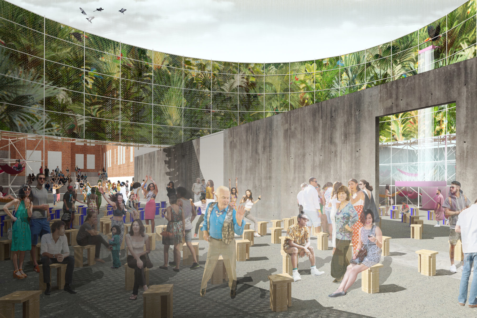 Pedro y Juana Moma PS1 Young Architect Prize pavilion