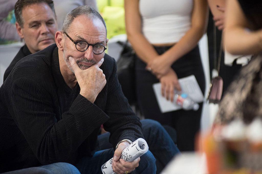 Thom Mayne in sciarc jury reviews staring
