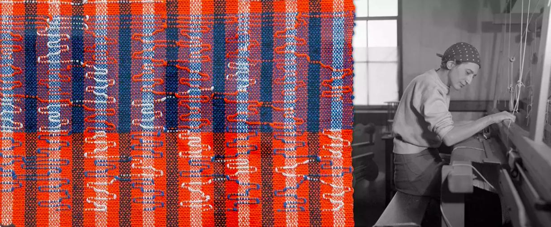 textile Anni Albers studio
