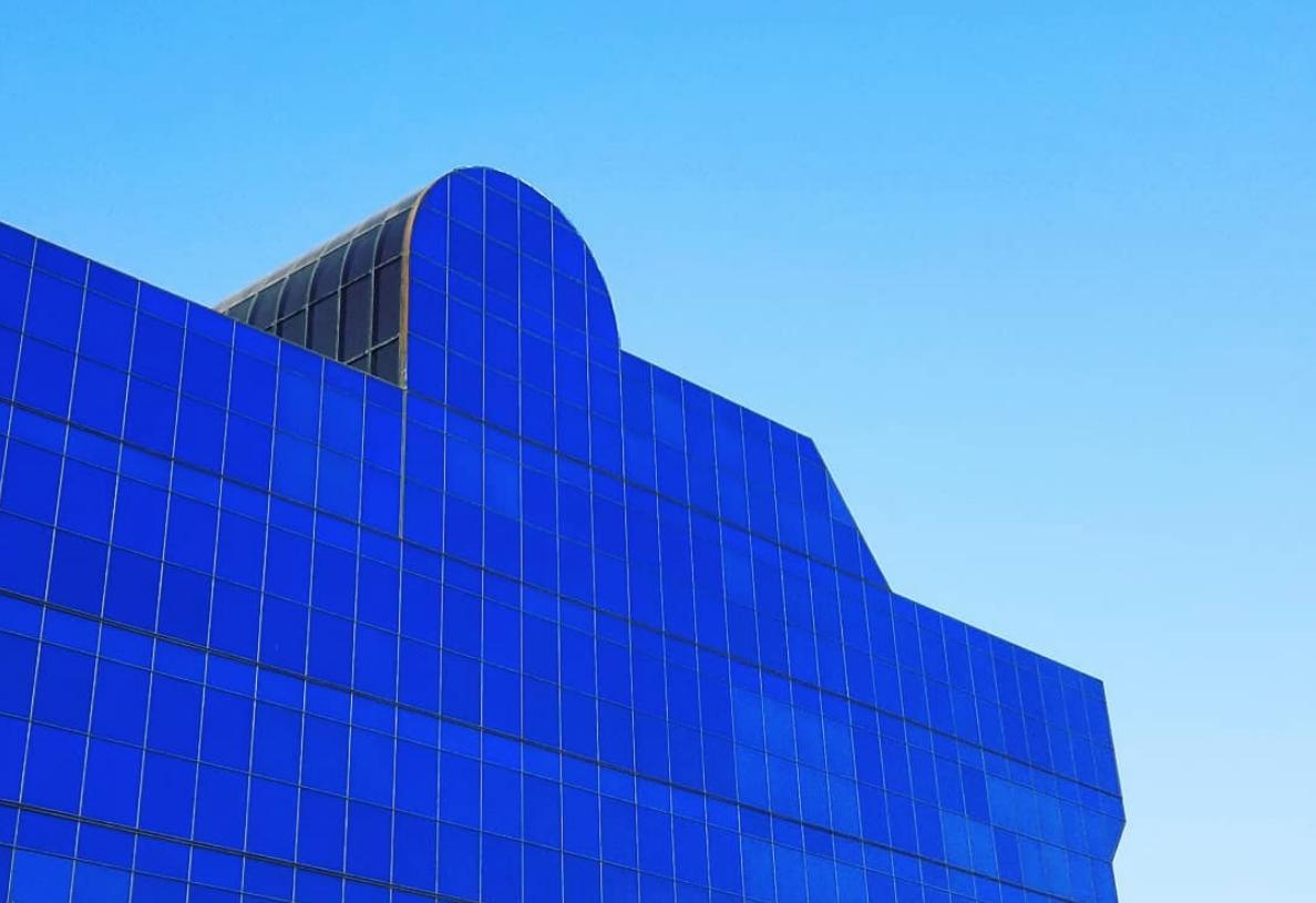 Pacific Design Center facade