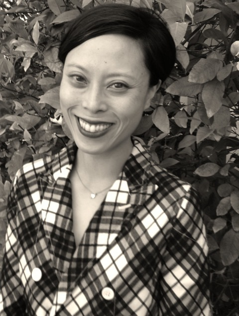 Sianne Ngai black and white foliage portrait