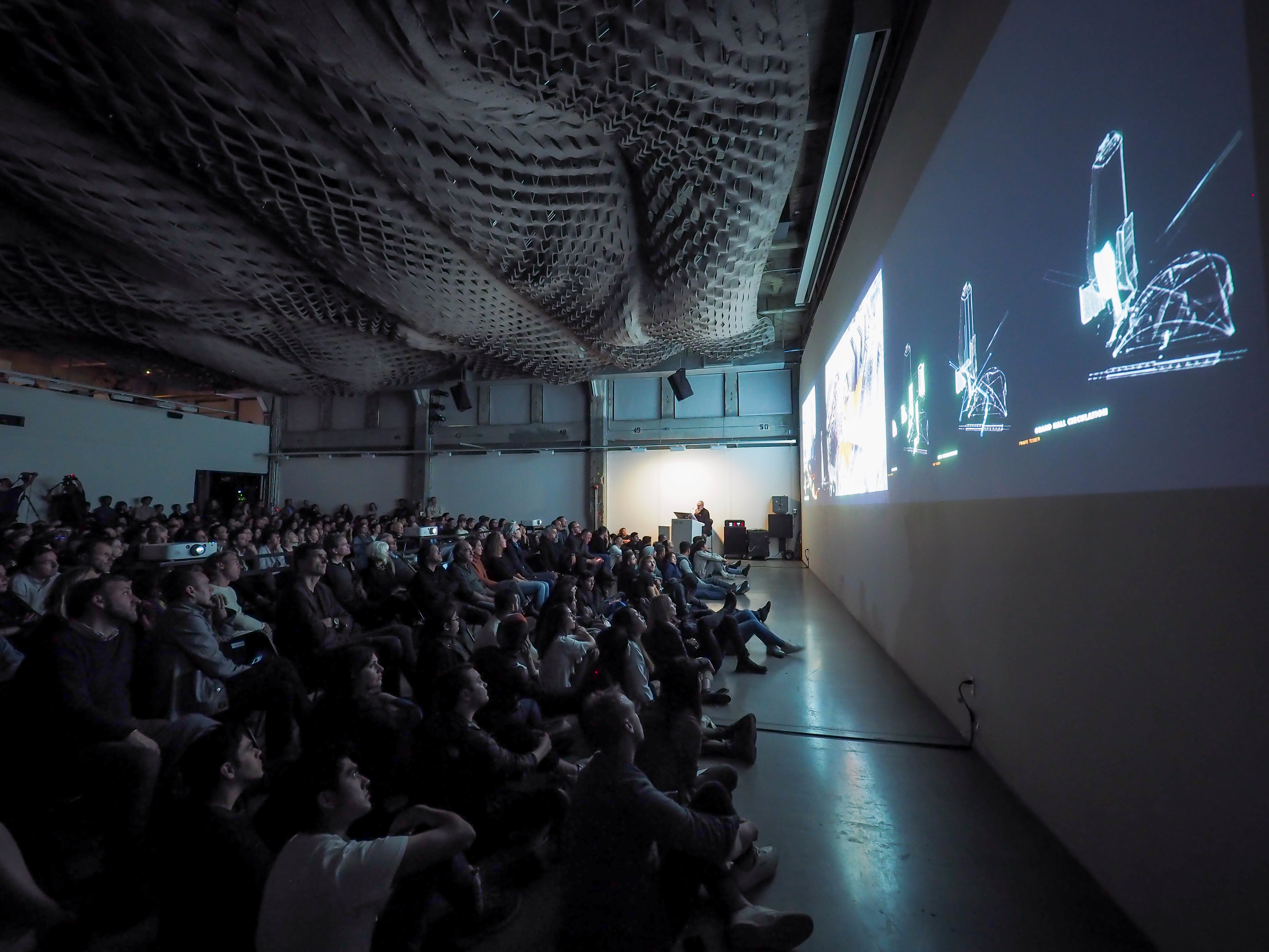Thom Mayne lecture audience