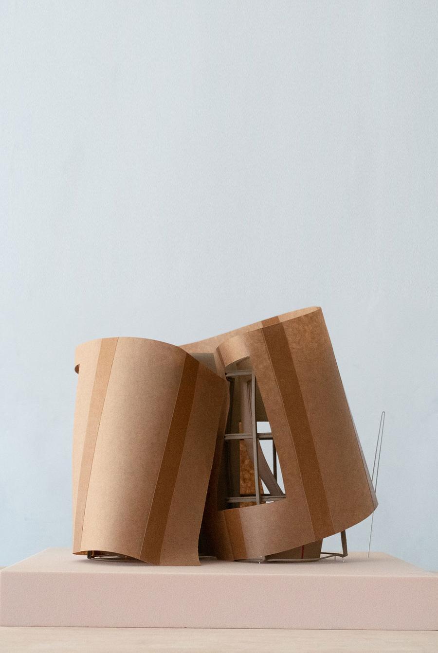 architecture model cardboard