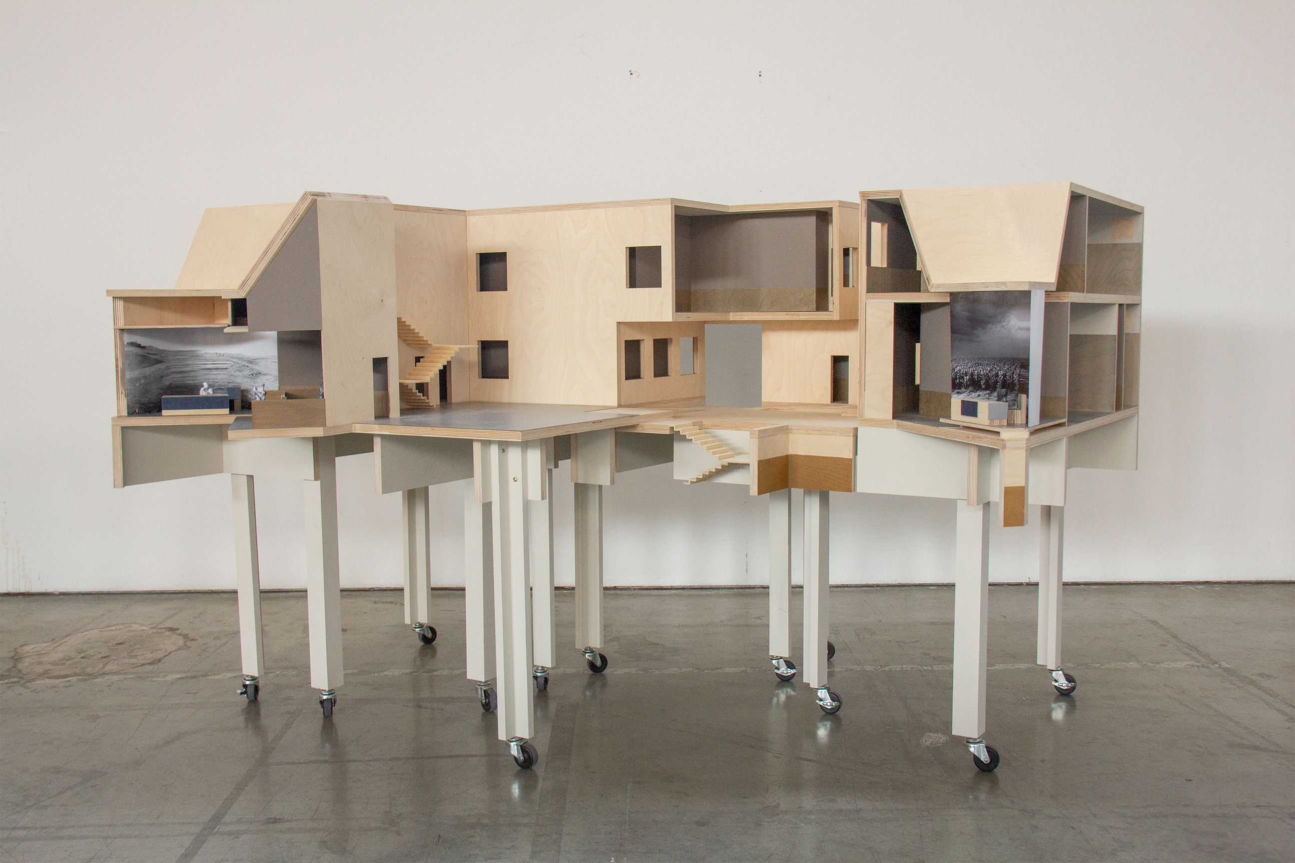 a niche architecture for immigration court by Benjamin Wiesgall