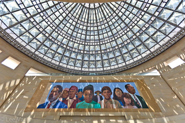 glass dome mural union station