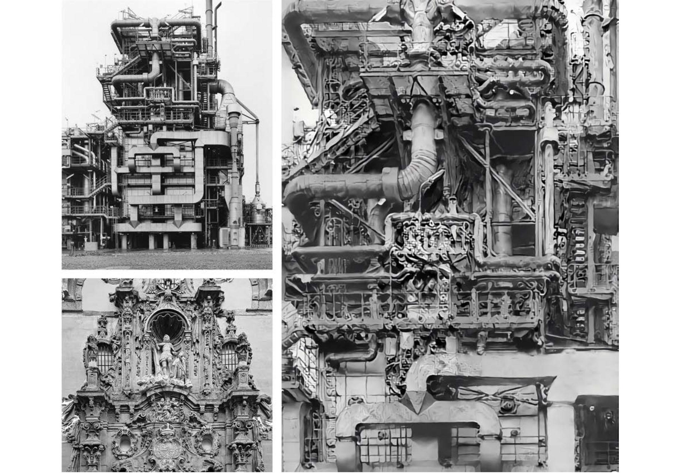 David Ruy vertical studio lottery machine vision collage