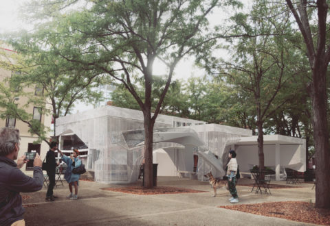 SCI-Arc Faculty Oyler and Wu Win Miller Prize on Early Saarinen Site in Columbus, Indiana