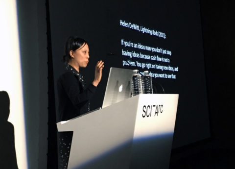 Sianne Ngai leads masterclass series at SCI-Arc