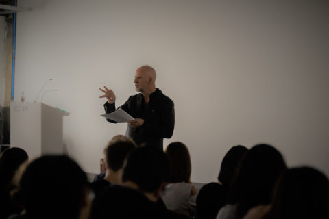 Simon Critchley Leads Masterclass at SCI-Arc