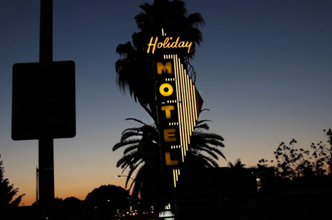 The Holiday Lodge Motel in Los Angeles. Photo by Danny Arrondo.