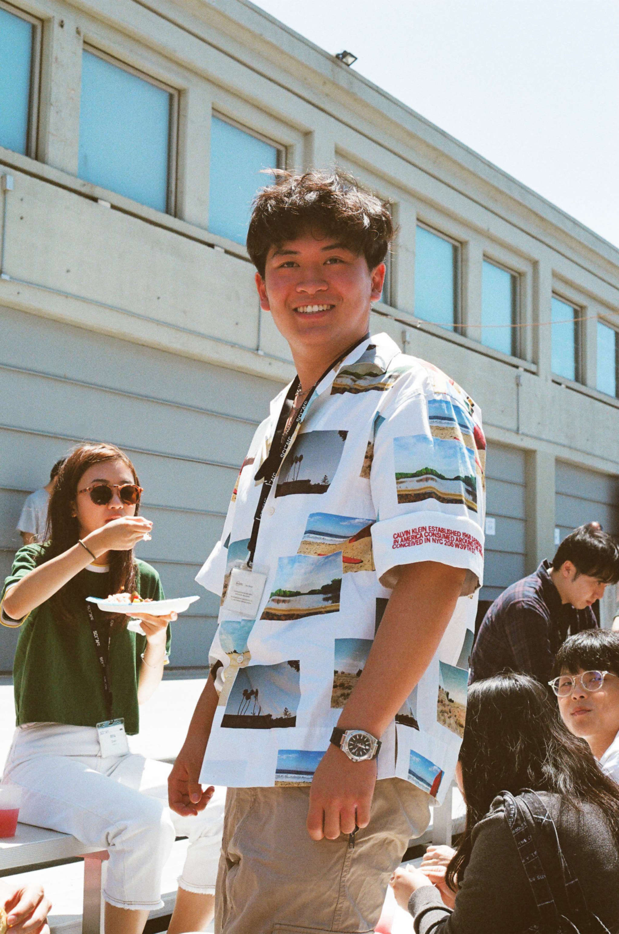 photo of a student