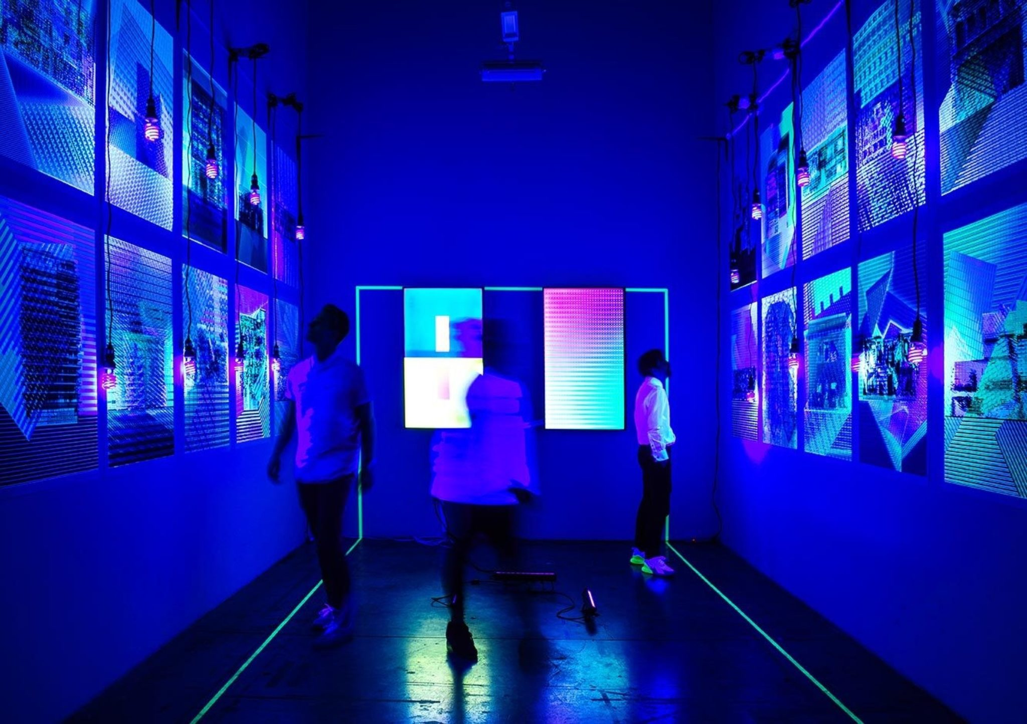 black light gallery exhibition