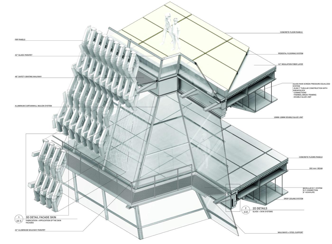 facade skin chunk diagram black and white