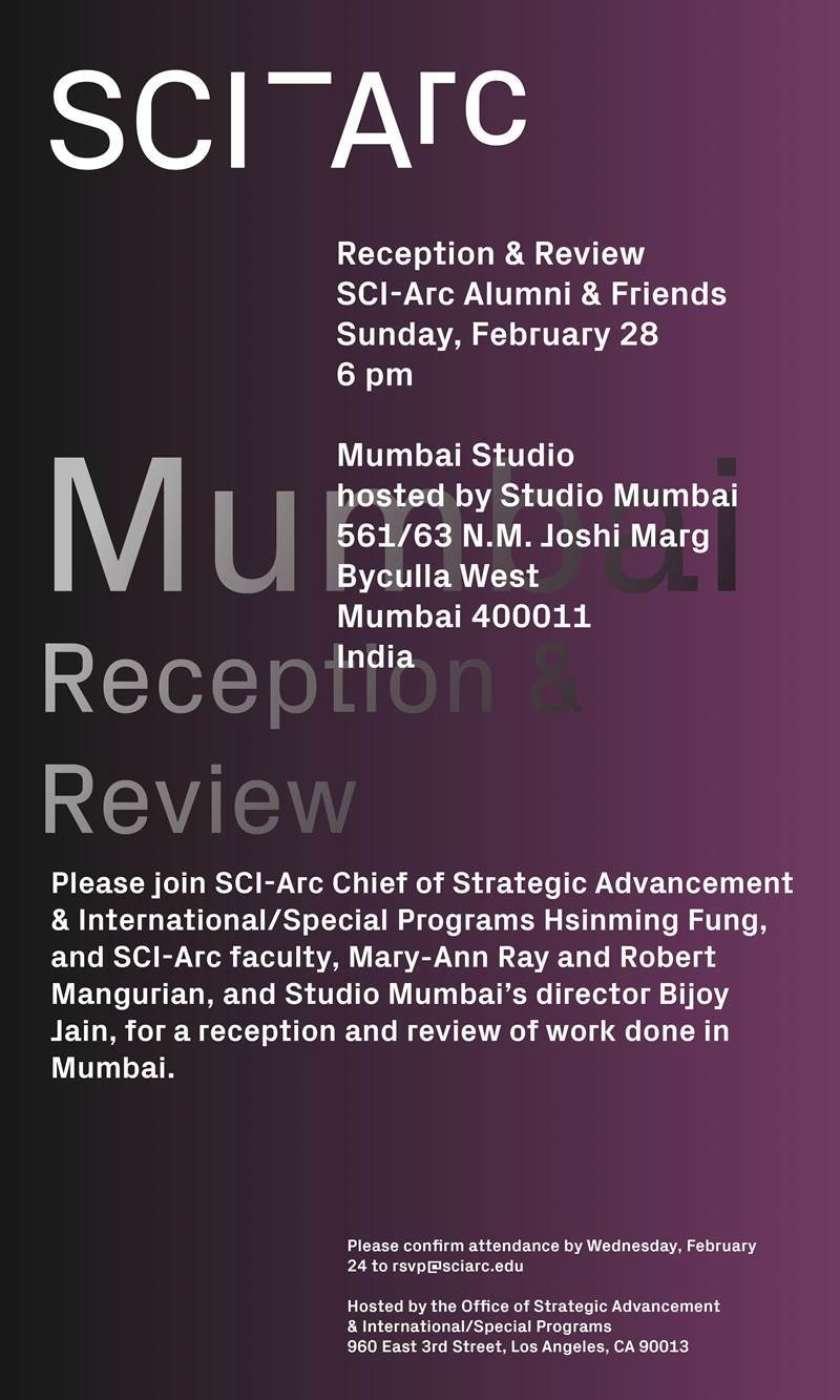 Mumbai Reception