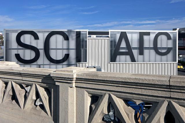 bridge vantage SCIArc signage los angeles