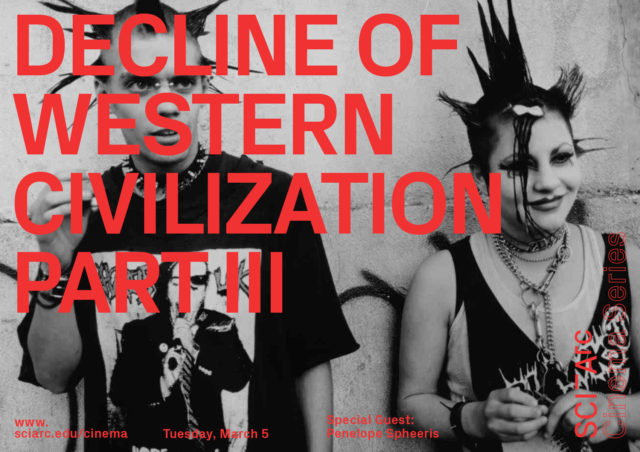 red text decline of western citization punk aesthetic