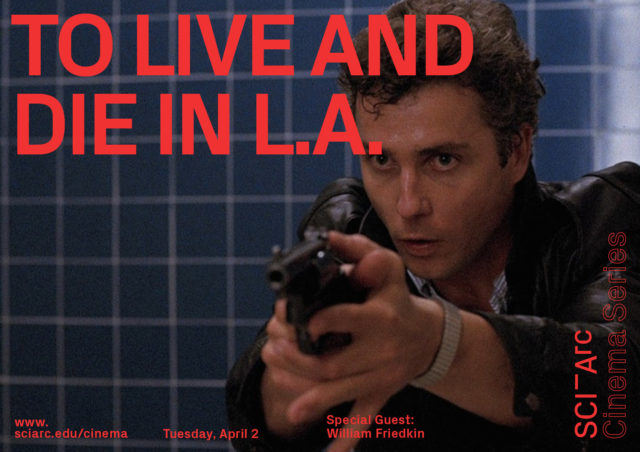 red text to live and die in LA