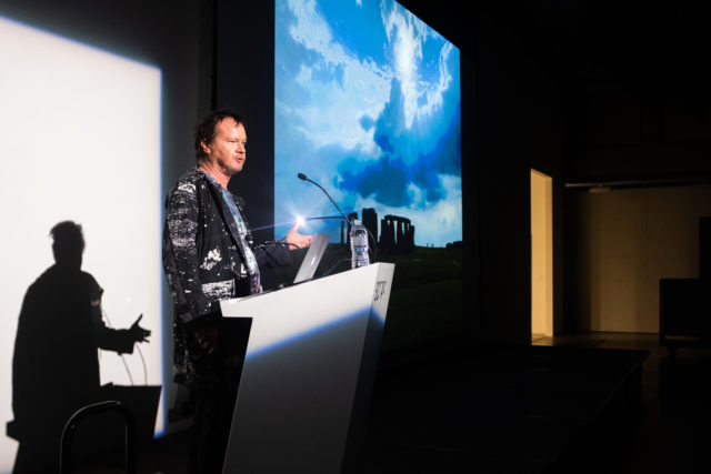 Timothy Morton Evokes Ecological Solidarity in 'Synthesizers' Lecture