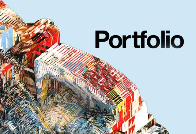 portfolio text render