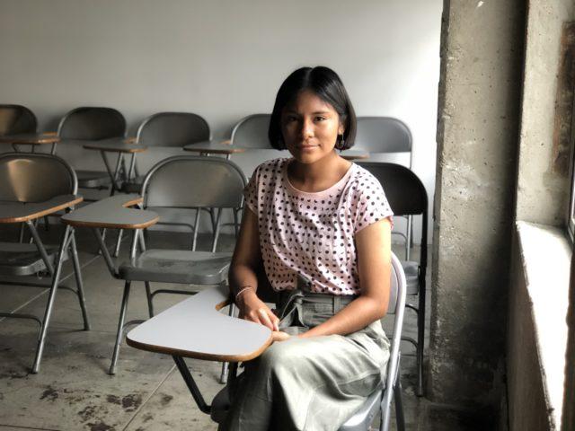 undergraduate scholarship recipient Alma Ramos