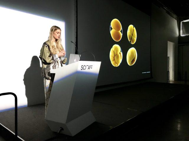 presentation at keck hall