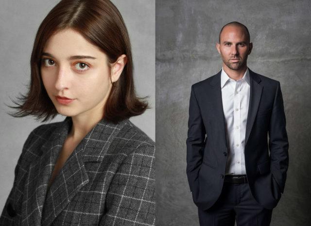 Jake Matatyaou and Amalia Ulman