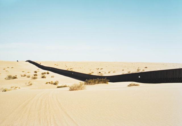 wall in desert