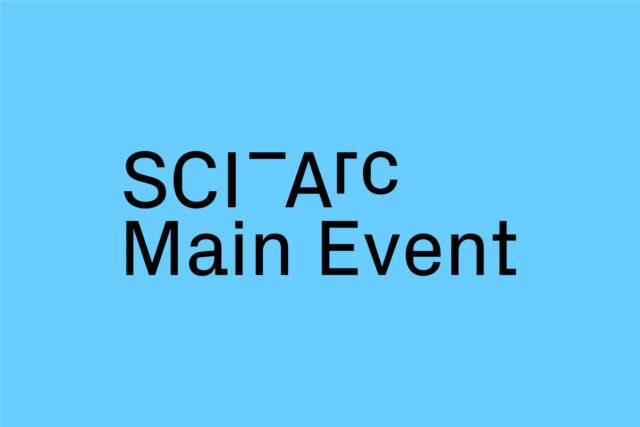SCI-Arc Main Event Logo