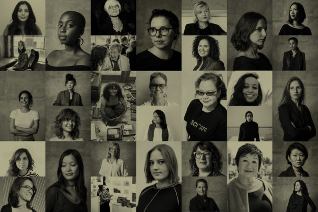 sciarc women headshots grid